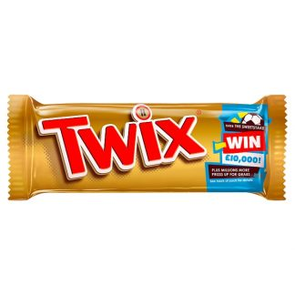 Twix Chocolate Biscuits Twin Bars