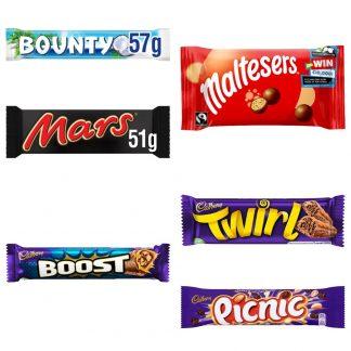Individual Chocolate Bars