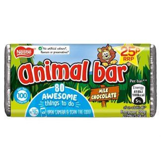 Animal Bar Milk Chocolate Bar