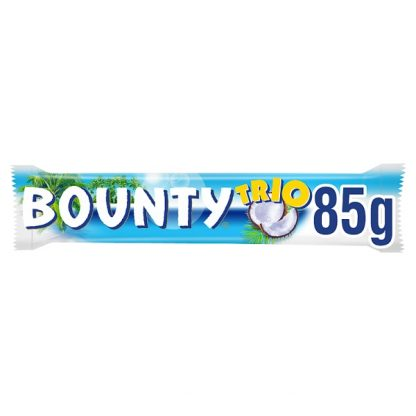 Bounty Coconut Milk Chocolate Trio Bar