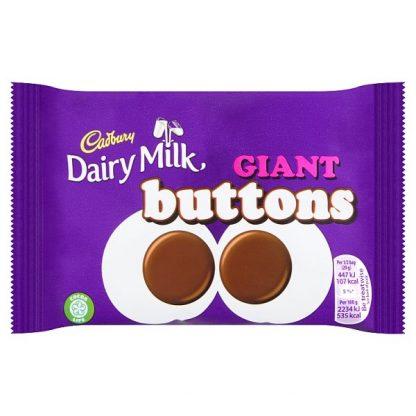 Cadbury Dairy Milk Giant Buttons Chocolate Bag