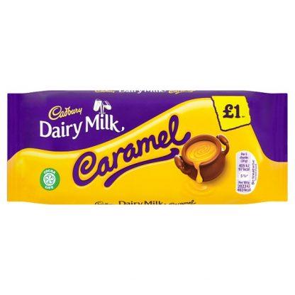 Cadbury Dairy Milk Caramel Chocolate Bar