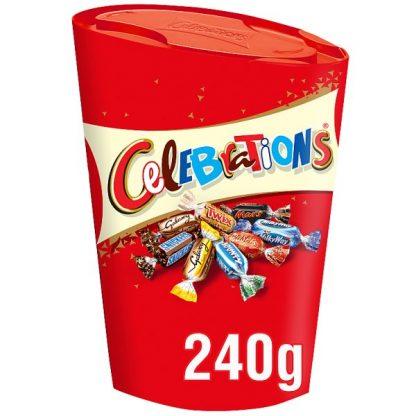 Celebrations Chocolate Gift Carton