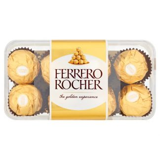 Ferrero Rocher Chocolate Pralines Gift Box of Chocolate 16 Pieces