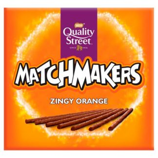 Quality Street Matchmakers Zingy Orange