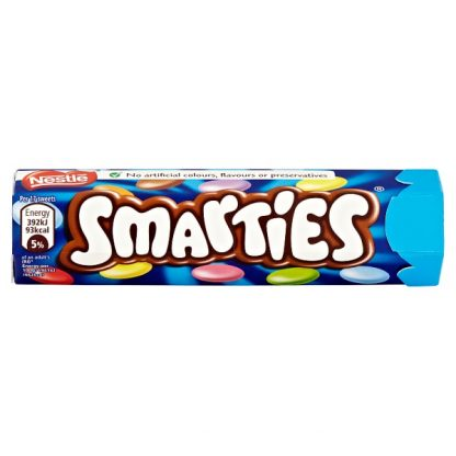 Smarties Milk Chocolate Sweets Tube
