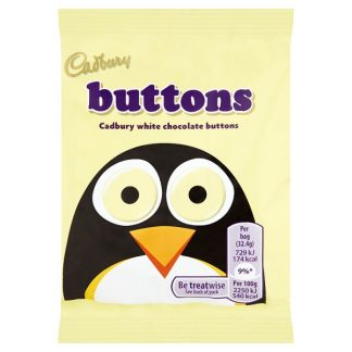 Cadbury White Buttons Chocolate Bag