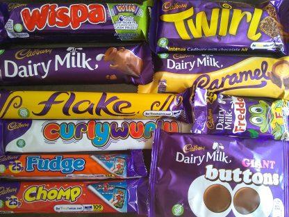 Cadbury 10 bar selection