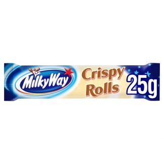 Milky Way Crispy Rolls Chocolate Bar 25g