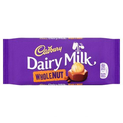Cadbury Wholenut 120g